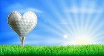 Golf,Love,Valentine's Day -...