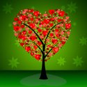 Tree,Valentine's Day - Holi...