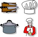 Chef,Hat,Domestic Kitchen,R...