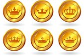 Crown,Gold Colored,Gold,Int...