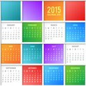 Calendar,2015,Multi Colored...