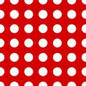Polka Dot,Red,White,Abstrac...
