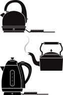 Kettle,Domestic Kitchen,Sil...