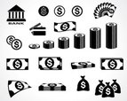 Coin,Chart,Black Color,Fina...