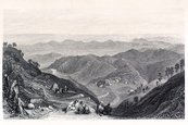 Mountain,Etching,Landscape...