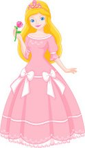 Fantasy,Dress,Doll,Pink Col...