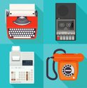 Obsolete,Old,Typewriter,Cal...