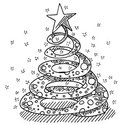 Christmas,Black And White,S...
