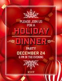 Christmas,Invitation,Dinner...