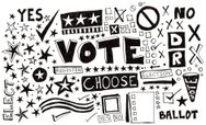 Voting,Doodle,Election,Ilus...