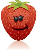 Strawberry,Cartoon,Fruit,Hu...
