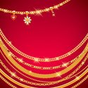 Gold Chain,Isolated,Backgroun…