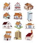 House,Cathedral,Apartment,H...