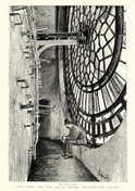 Clock,Engraved Image,Woodcu...