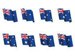 Australian Flag,Animation,A...