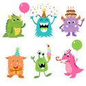 Monster,Cartoon,Characters,...