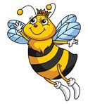 Bee,Ilustration,Insect,Vect...