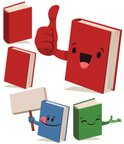 Book,Isolated,Vector,Mascot...