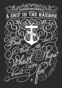 Sailor,Quote,Harbor,Ship,Sa...