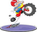Bicycle,Accident,Tricycle,C...