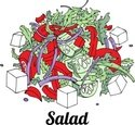 Salad,Tomato,Eat,Healthy Li...