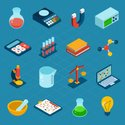 Isometric,Research,Science,...