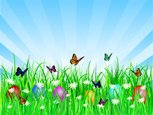 Easter,Butterfly - Insect,E...