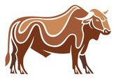 Brown,Cattle,Cow,Mammal,Vec...