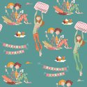 Pattern,Hair Curlers,Bed,Pa...