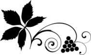 Grape,Vine,Silhouette,Spira...