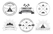 Hipster,Tent,Sign,Camping,S...