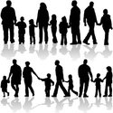 Silhouette,Family,People,Ch...