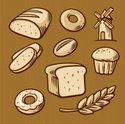 Bread,Design Element,Symbol...