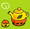 Cartoon,Teapot,Tea - Hot Dr...