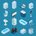 Cooler,Isometric,Ornate,Col...