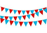 Isolated,Bunting,Party - So...