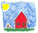 Child's Drawing,Drawing - A...
