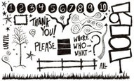Doodle,Thank You,Drawing - ...