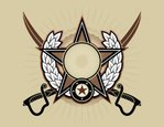 Military,Star - Space,Badge,S…