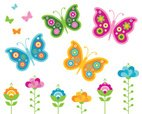 Butterfly - Insect,Flower,S...