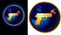 Gun,Handgun,Smoke - Physica...