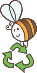 Bee,Insect,Bumblebee,Recyc...
