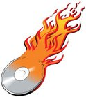 CD,DVD,Burning,Flame,CD-ROM...