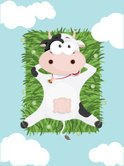 Cow,Cartoon,Farm,Animal,Cut...