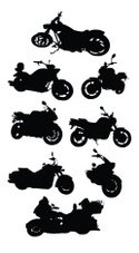 Motorcycle,Silhouette,Motoc...