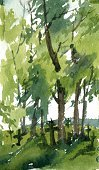 Watercolor Painting,Outdoor...