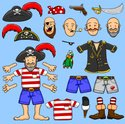 Pirate,Animation,Hat,Cartoo...