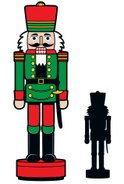 Nutcracker,Christmas,Silhou...