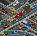 Car,Traffic,Isometric,Truck...