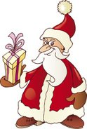 Santa Claus,Cartoon,Ilustra...